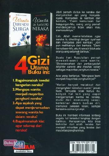Cover Belakang Buku Wanita di Ambang Neraka