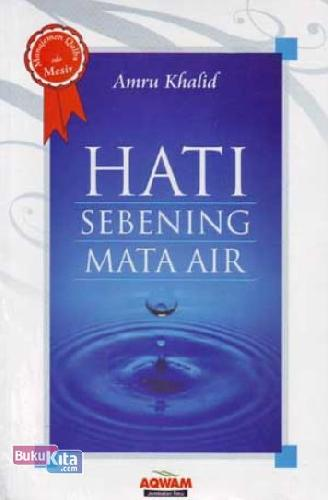 Cover Buku Hati Sebening Mata Air