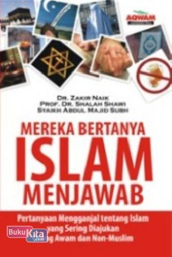 Cover Buku Mereka Bertanya Islam Menjawab