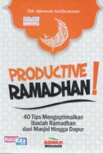 Cover Buku Productive Ramadhan