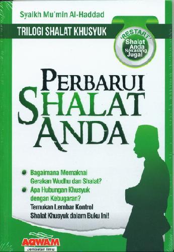 Cover Buku Perbarui Shalat Anda (Trilogi Shalat Khusyuk)