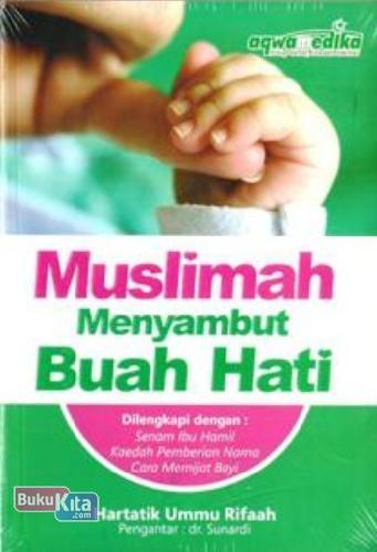 Cover Buku Muslimah Menyambut Buah Hati