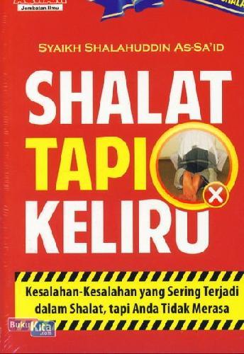 Cover Buku Shalat Tapi Keliru