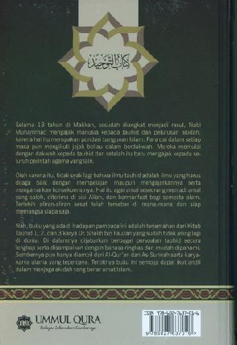 Cover Belakang Buku Kitab Tauhid - Edisi Revisi