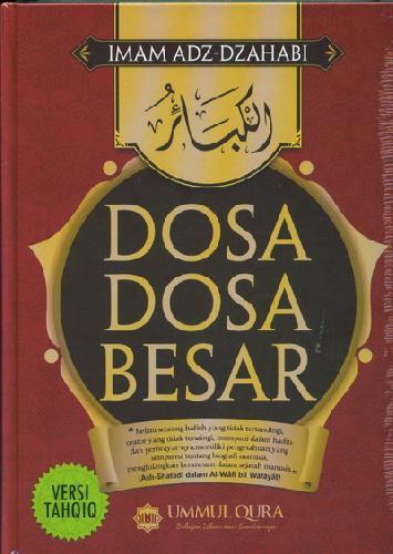 Cover Buku Dosa-Dosa Besar Versi TAHQIQ