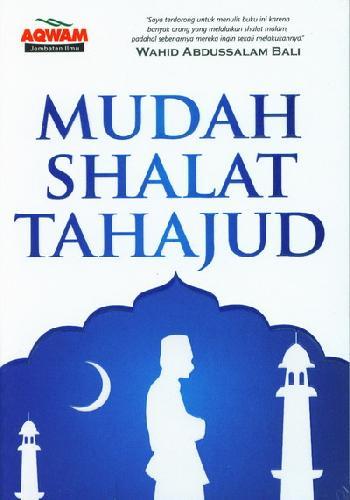 Cover Buku Mudah Shalat Tahajud