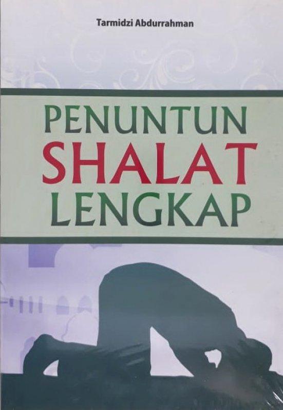Cover Buku Penuntun Shalat Lengkap