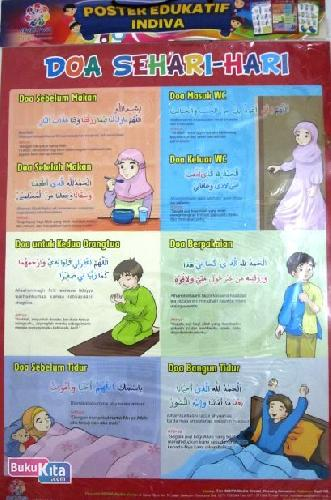 Cover Buku Poster Doa sehari-hari