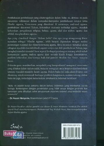 Cover Belakang Buku Kalam Jadid