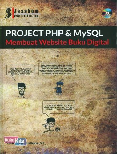 Cover Buku Project PHP & MySQL : Membuat Website Buku Digital