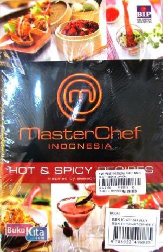 Cover Belakang Buku Master Chef Indonesia : Coffe Lovers dan Hot & Spicy Recipes