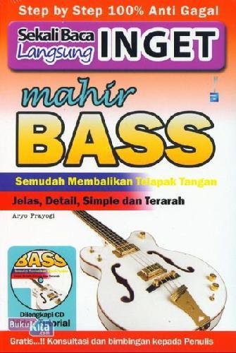 Cover Buku Sekali Baca Langsung Inget Mahir Bass