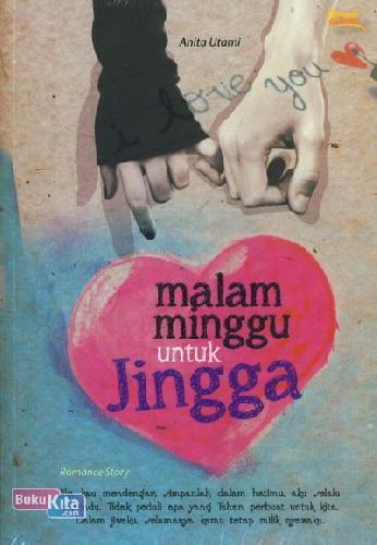 Cover Buku Malam Minggu untuk Jingga