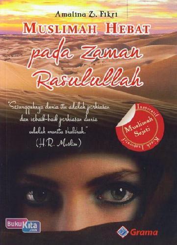 Cover Buku Muslimah Hebat Pada Zaman Rasulullah