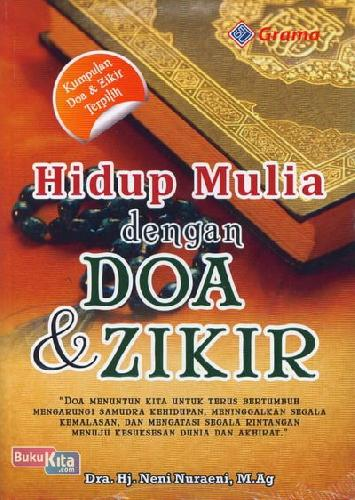 Cover Buku Hidup Mulia dengan Doa & Zikir