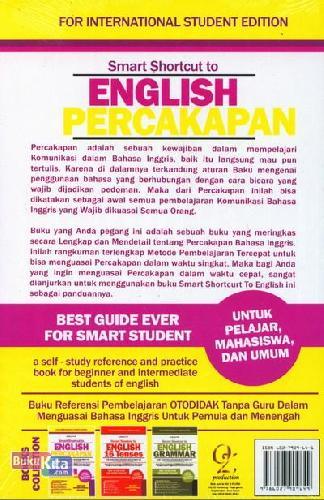 Cover Belakang Buku Smart Shortcut to English Percakapan