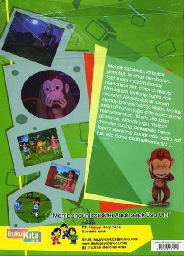 Cover Belakang Buku Menonton Yang Baik (Seri Komik 3D Anak Bangsa) Episode 1