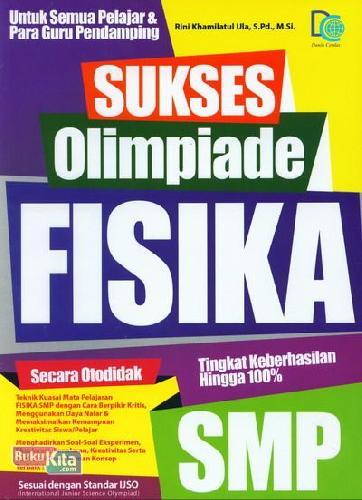 Cover Buku Sukses Olimpiade Fisika SMP