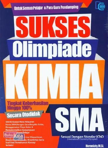Cover Buku Sukses Olimpiade Kimia SMA