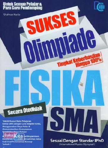Cover Buku Sukses Olimpiade Fisika SMA