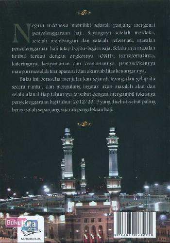 Cover Belakang Buku Prosedur Hitam Penyelenggaraan Haji - Catatan Kritis Haji Tahun 2012/2013