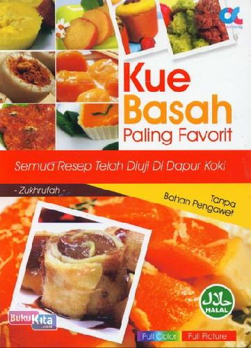 Cover Buku Kue Basah Paling Favorit (Full Color)
