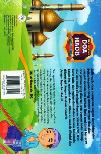 Cover Belakang Buku 99 Kumpulan Doa dan Hadis Untuk Anak
