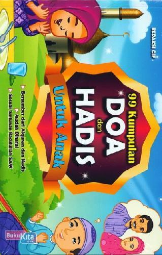 Cover Buku 99 Kumpulan Doa dan Hadis Untuk Anak