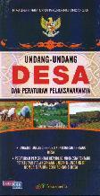 Undang-Undang Desa dan Peraturan Pelaksanaannya