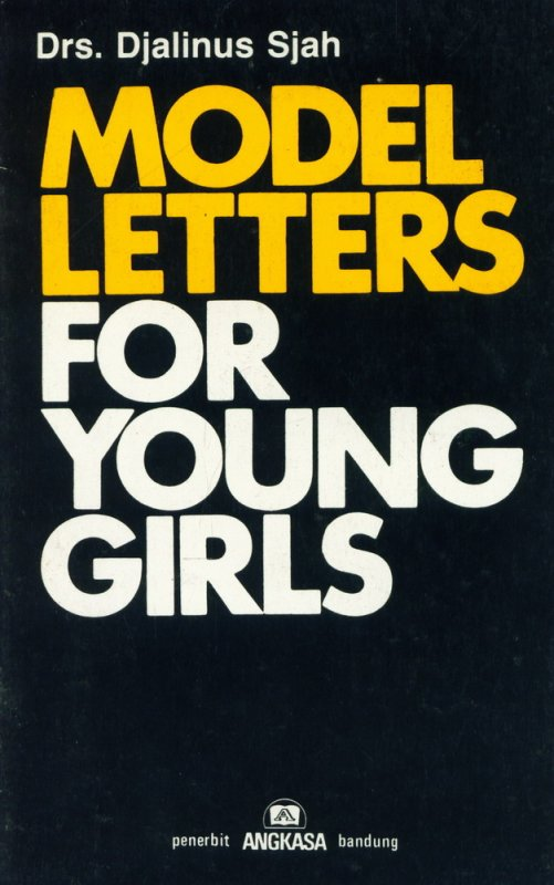 Cover Buku Model Letters For Young Girls