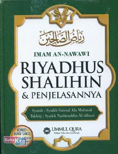 Cover Buku Riyadhus Shalihin dan Penjelasannya