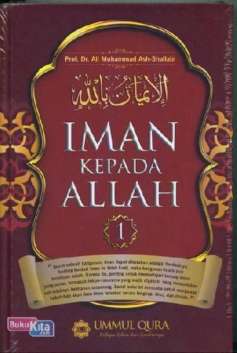 Cover Buku Iman Kepada Allah Jilid 1