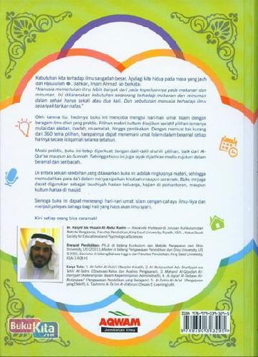 Cover Belakang Buku Materi Pengajian Setahun