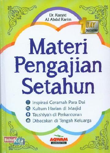 Cover Buku Materi Pengajian Setahun
