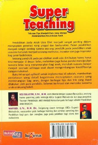 Cover Belakang Buku Super Teaching