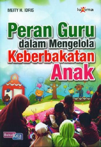 Cover Buku Peran Guru dalam Mengelola Keberbakatan Anak