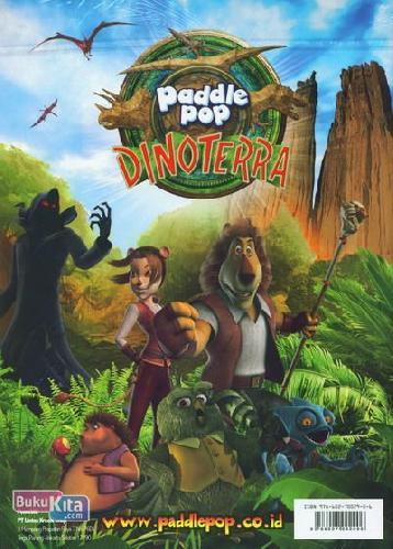 Cover Buku Activity Book - Buku Petualangan Paddle Pop Dinoterra