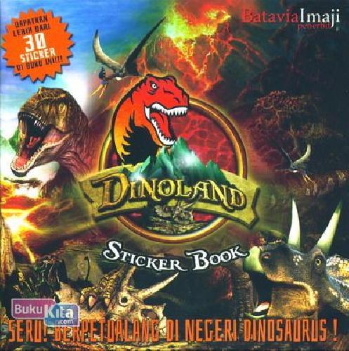 Cover Buku Sticker Book - Seru Berpetualangan Di Negeri Dinosaurus