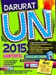 Darurat UN (Ujian Nasional) 2015 SMP/MTs