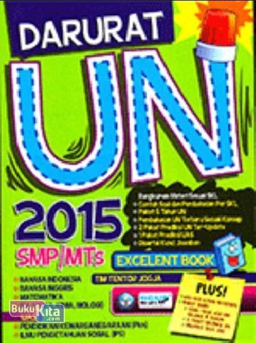 Cover Buku Darurat UN (Ujian Nasional) 2015 SMP/MTs