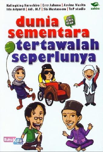 Cover Buku Dunia Sementara Tertawalah Seperlunya