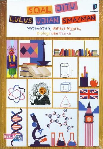 Cover Buku Soal Jitu Lulus Ujian SMA/MAN - Matematika, Bahasa Inggris, Biologi dan Fisika