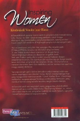 Cover Belakang Buku Inspiring Women (Kisah-Kisah Wanita Luar Biasa)