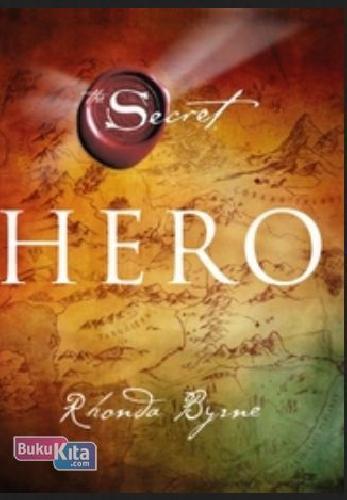 Cover Buku The Secret Hero Edisi Hard Cover