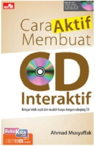 Cover Buku Cara Aktif Membuat Cd Interaktif + CD
