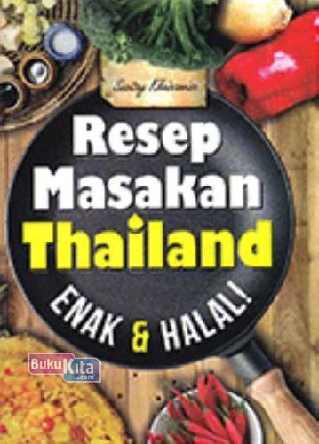 Cover Buku Resep Masakan Thailand Enak&Halal