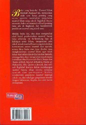Cover Belakang Buku Tasawuf Islam Mazhab Bagdad