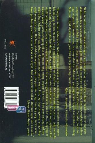 Cover Belakang Buku Makkasar Nol Kilometer