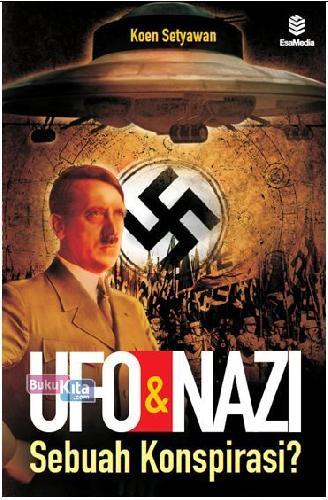 Cover Buku Ufo&Nazi Sebuah Konspirasi