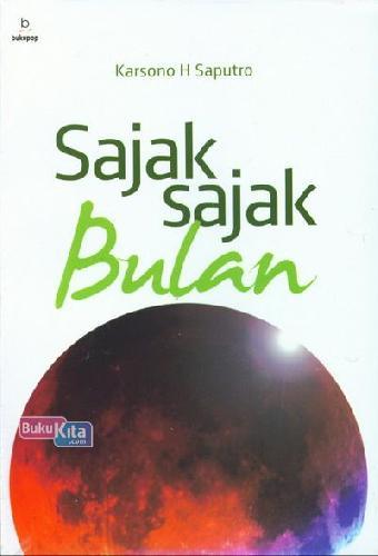 Cover Buku Sajak-Sajak Bulan